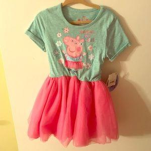 Other - NWT adorable peppa pig tutu dress